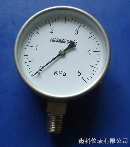 YE-75、100、150-膜盒压力计