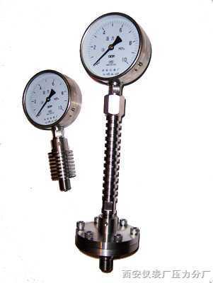 YTH-100/150耐腐耐高溫隔膜壓力表
