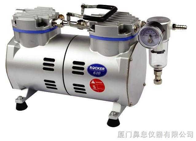 台湾洛科真空泵 Rocker610 无油真空泵 实验室真空泵 无油式真空泵 抽滤泵