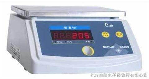梅特勒防水台秤 cub防水桌秤 3kg防水电子秤
