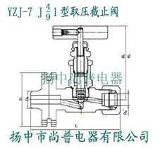 YZJ1-7 J41 J91型取壓截止閥