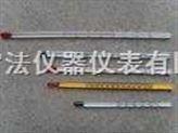 玻璃棒式水银温度计