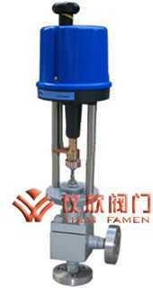 电动高压角式调节阀