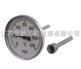 热套式双金属温度计  江苏热套式双金属温度计 报价 原理 安装