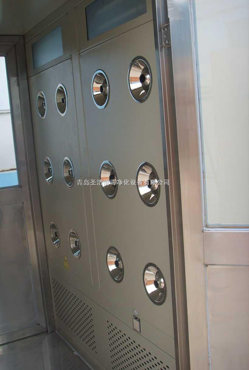 高品质的首选  青岛圣洁风淋室,风淋门 风淋设备