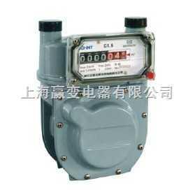 ZG2.5-1-正泰儀表 ZG1.6-1、ZG2.5-1 IC卡預付費鋁殼膜式燃氣表
