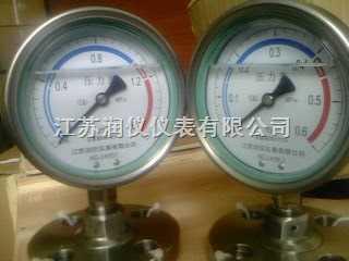 YTN-100/MF-不锈钢耐震隔膜压力表