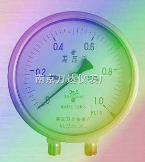 不锈钢差压压力表