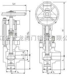 VH56-250-316L化肥专用对焊截止阀