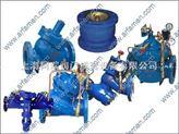 水力电动控制阀,水泵控制阀,压差旁通平衡阀