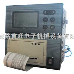 藥廠專用黃屏1-3路帶打印溫度記錄儀(805型)