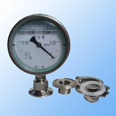 力表-金湖虹润仪表有限公司-y m系列隔膜压力表图片