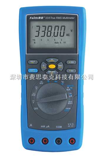 FT338-工業用真有效值萬用表