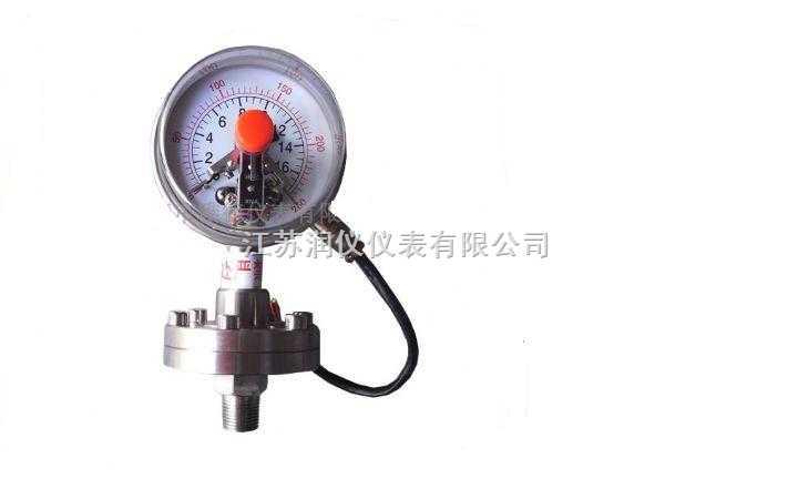 电接点隔膜压力表YXC-100生产厂家