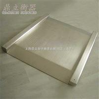 超低台面不锈钢单层小地磅