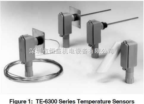 TE-6300 系列温度传感器