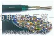 HYAT22:铜芯实心聚烯烃绝缘填充式挡潮层聚乙烯护套钢带铠装聚氯乙烯护套市内通信电缆